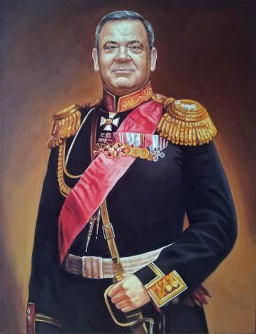 Где заказать портрет маслом в Киеве?