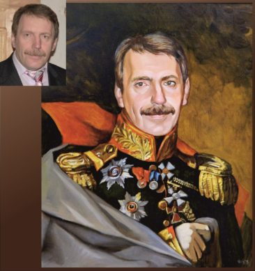 Настоящий портрет маслом на заказ в Киеве…