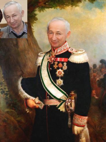Где заказать исторический портрет по фото на холсте в Киеве?