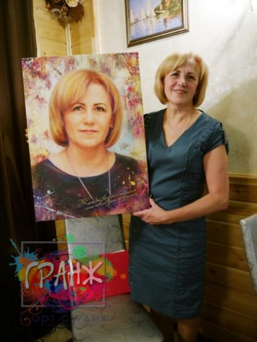 Портрет на заказ Киев