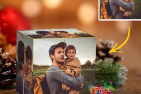Фотокубик трансформер, купить в подарок Киев